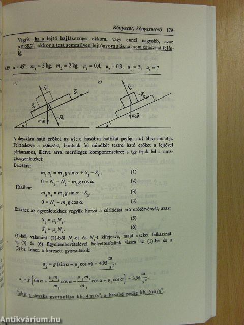 Fizika lejtős feladatok megoldással