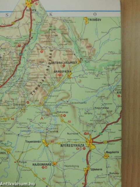 Magyarorszag Terkep Cartographia 1984 Antikvarium Hu