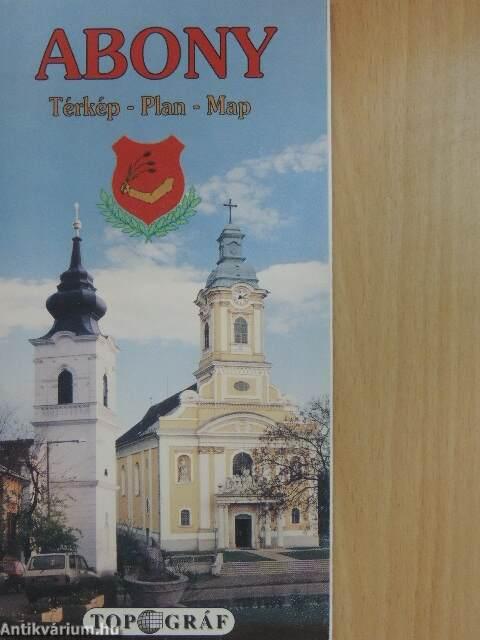 Abony Terkep Abonyi Polgarmesteri Hivatal Agat Kft 1993