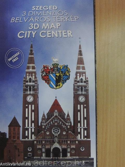 Szeged 3 Dimenzios Belvaros Terkep Terkep Joker Reklam Kft