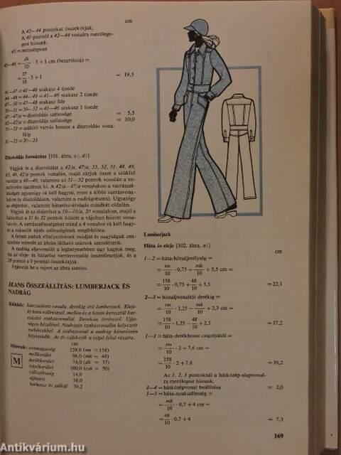 8f2a076f94 Baka János: Női- és lánykaruhák szerkesztése, szabása (Műszaki ...
