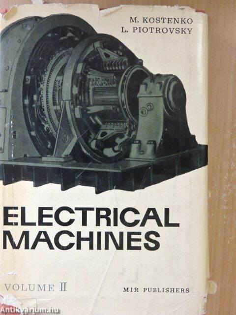 electrical machines kostenko