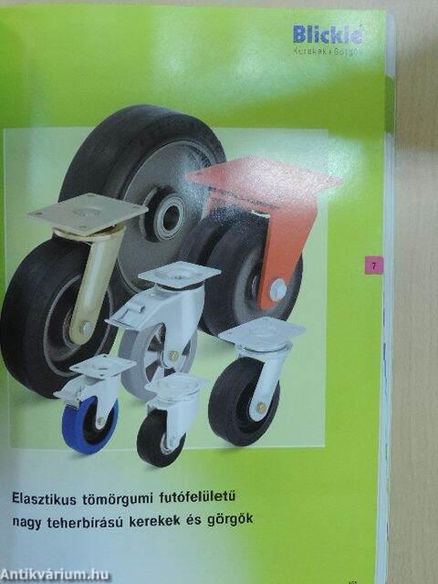 0f733733cd51 Blickle Kerekek + Görgők (Blickle Räder+Rollen GmbH & Co. KG ...