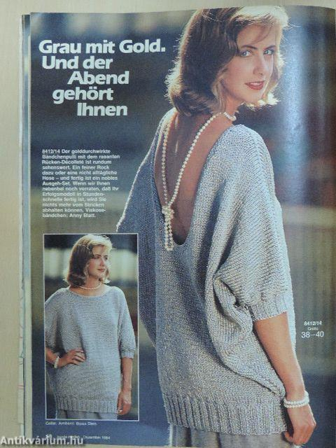 maria blumrich burda moden dezember 1983 verlag aenne burda 1983. Black Bedroom Furniture Sets. Home Design Ideas