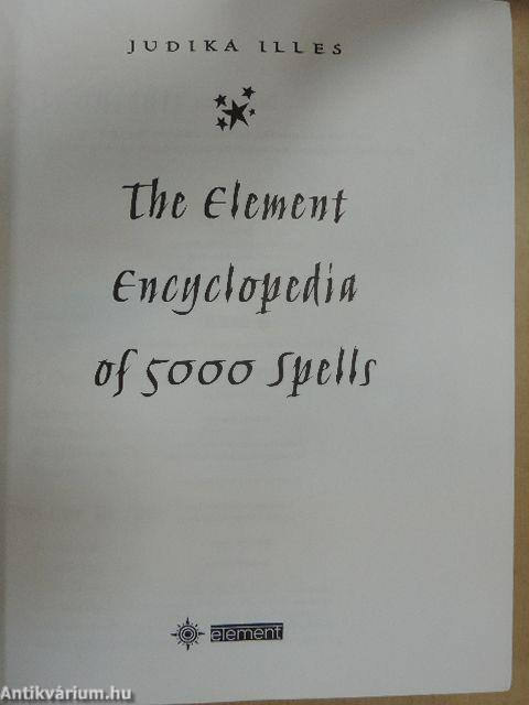 encyclopedia of 5 000 spells