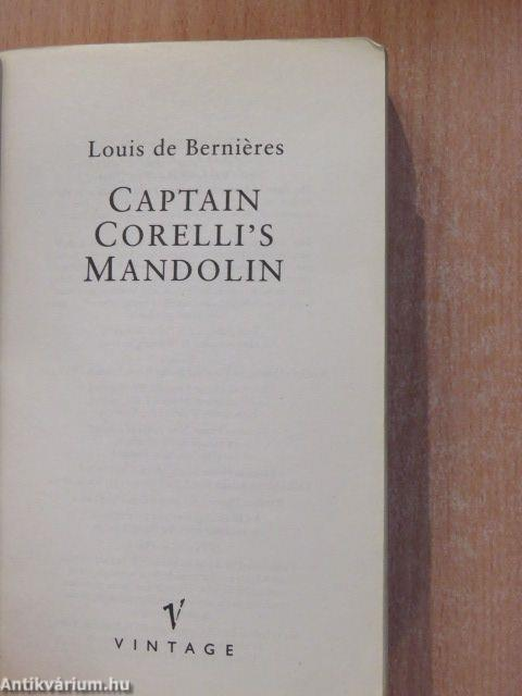 captain corellis mandolin by louis de bernieres essay Answers the hearth and salamander proposing solution problem essay  chapter 5 review answers captain corellis mandolin louis de bernieres breaking bad and.