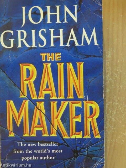 an analysis of john grishams the rainmaker The rainmaker: amazonde: john grisham: the rainmaker: amazonde: john grisham: besuchen sie die seite von john grisham auf amazon ein highlight in grishams.
