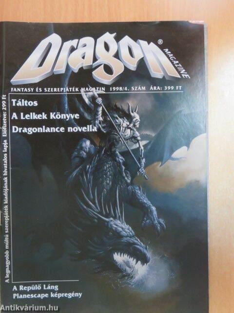 Csiszár Dénes: Dragon Magazine 1998/4  (Szukits Könyvkiadó