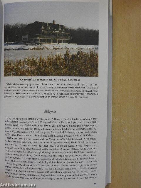 65a098e12f Tóth Miklós: A Felső-Tisza vidék (Sóstó Fejlesztési, Beruházási és ...