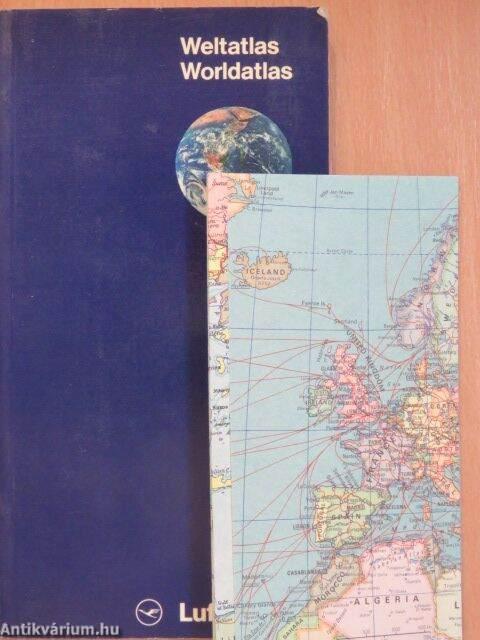 Weltatlas/World Atlas (Deutsche Lufthansa AG, 1980 ...