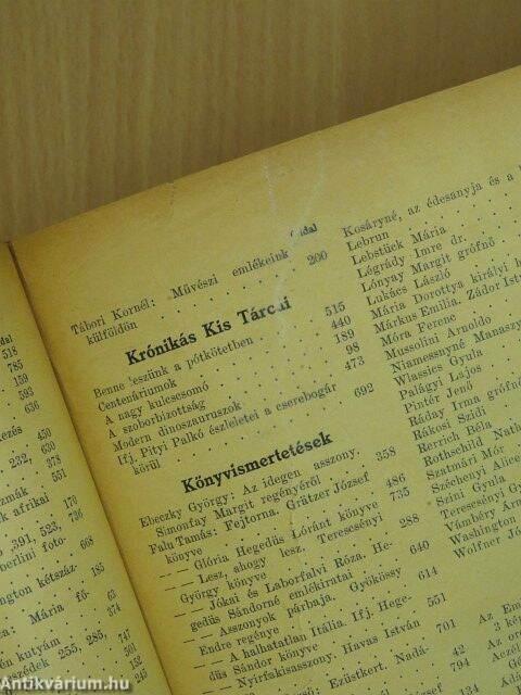 dd0c626faf0c Kodály Zoltán: Uj Idők 1932. január-június (fél évfolyam) (Singer és ...