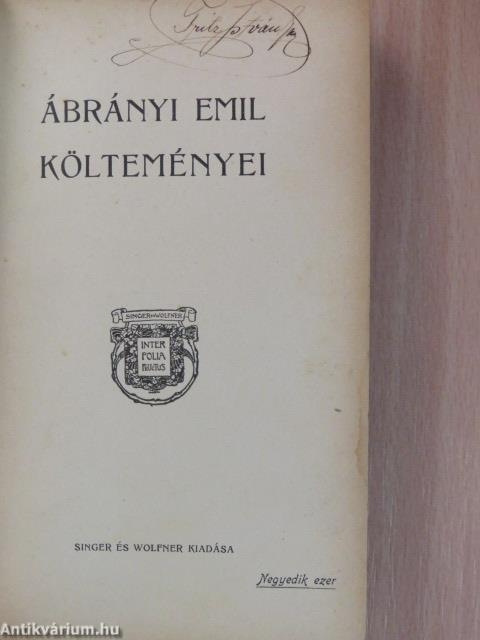 Emil Ábrányi