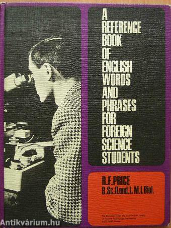 Reference book for a wordsmith