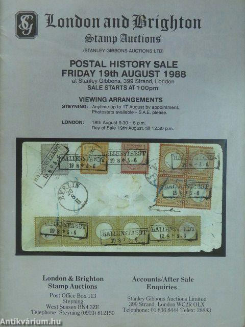 London and Brighton Stamp Auctions Postal History Sale