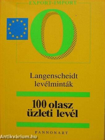 Michaela Kliem  100 olasz üzleti levél (Pannonart Kft. 04eff31025