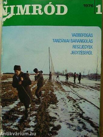 Pechtol János: Nimród 1976. január decemberNimród Fórum
