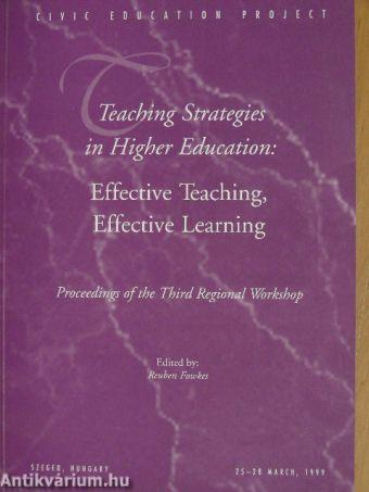 strategies for effective teaching and learning Effective cooperative learning strategies  cooperative learning is an effective way for students to learn and  top core teaching strategies for.