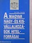 A magyar nagy- és kisvállalkozások hitelforrásai