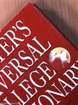 Webster's Universal College Dictionary