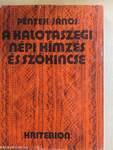 A kalotaszegi népi hímzés és szókincse