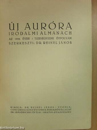 Új Auróra az 1932. évre