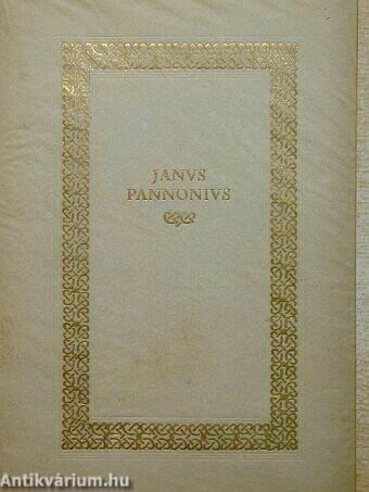 Janus Pannonius válogatott versei
