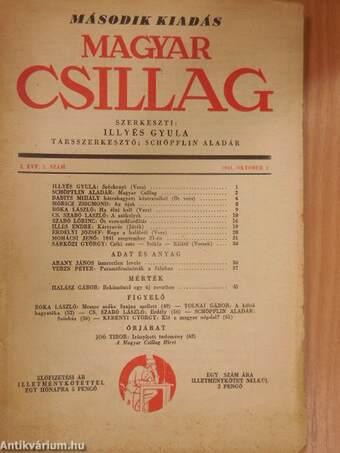 Magyar Csillag 1941. október