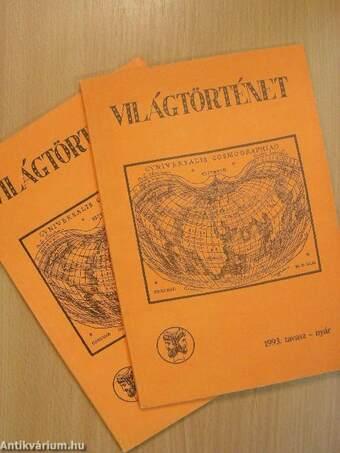 Világtörténet 1993. tavasz-tél