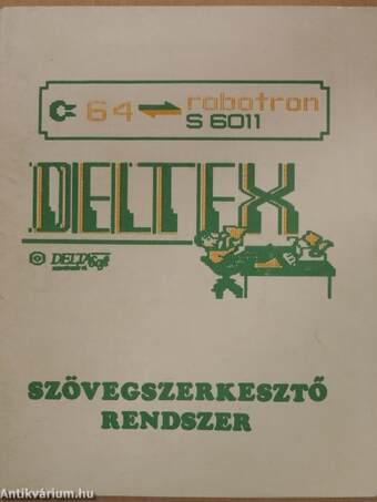 Deltex szövegszerkesztő rendszer