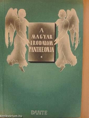A magyar irodalom pantheonja