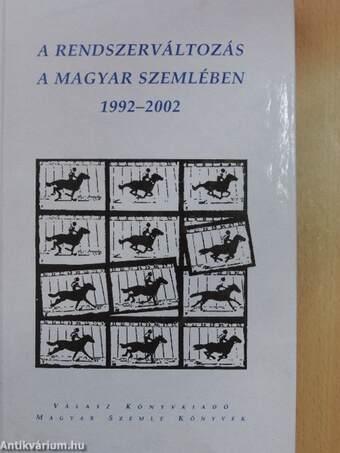 A rendszerváltozás a Magyar Szemlében