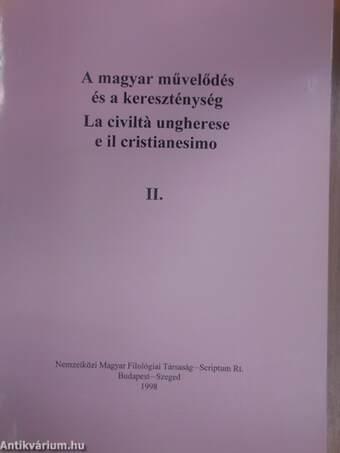A magyar művelődés és a kereszténység II.