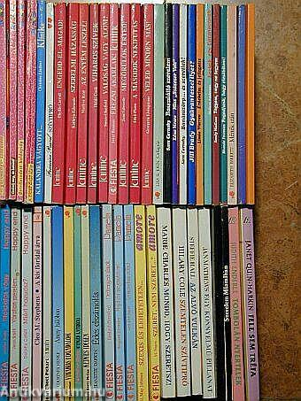 """""""50 kötet szerelmes regény sorozatokból"""""""
