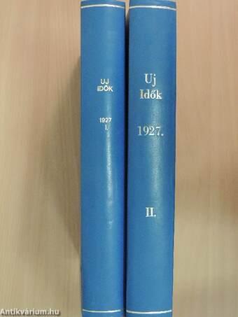 Uj Idők 1927. (nem teljes évfolyam) I-II.