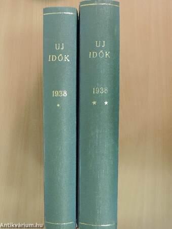 Uj Idők 1938. (nem teljes évfolyam) I-II.