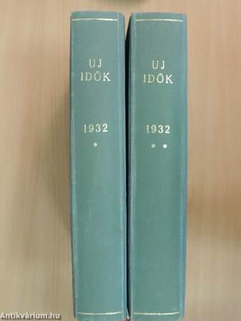 Uj Idők 1932. január-december I-II.