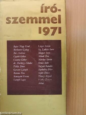 Írószemmel 1971