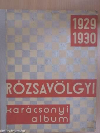 Rózsavölgyi album Karácsony 1929-1930.