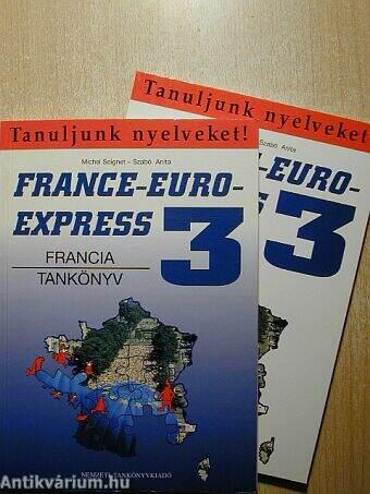 France-Euro-Express 3. - Tankönyv/Munkafüzet