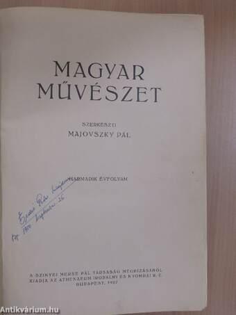 Magyar művészet 1927/1-10.