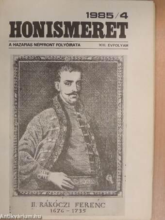 Honismeret 1985/4.