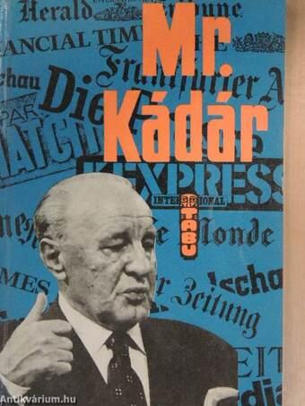 Mr. Kádár