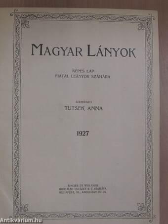Magyar Lányok 1927. január-december