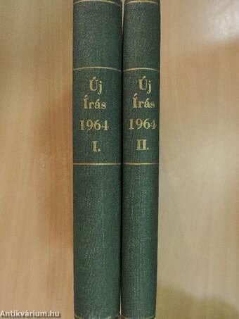 Új Írás 1964. (nem teljes évfolyam) I-II.