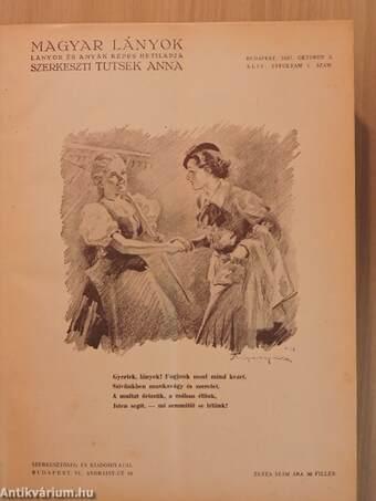Magyar Lányok 1937. október 3.-1938. szeptember 25./Magyar Lányok 1938. (nem teljes évfolyam)