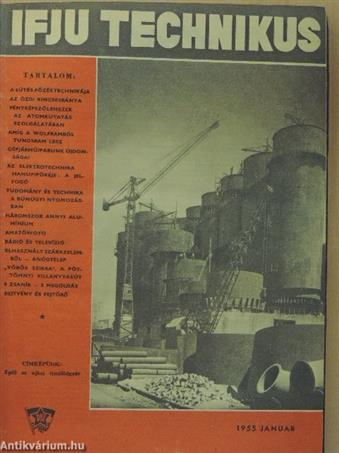 Ifjú Technikus 1955. január-december