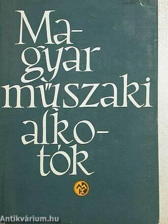 Magyar műszaki alkotók