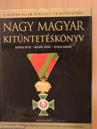 Nagy magyar kitüntetéskönyv