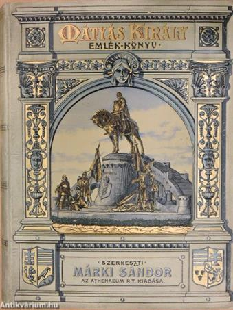 Mátyás király emlékkönyv
