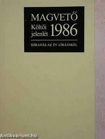 Költői jelenlét 1986.